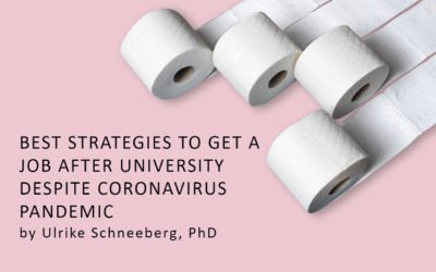 Best strategies to get a job after university despite coronavirus pandemic
