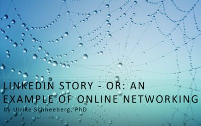 LinkedIn story – Or: An example of online networking